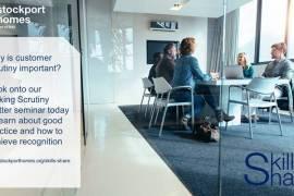 Stockport Homes to deliver Skills Share Seminars