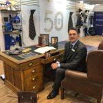 3rd generation managing director Daniel Turner of William Turner