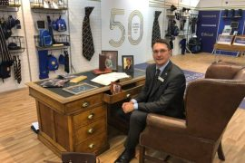 3rd generation managing director Daniel Turner of William Turner
