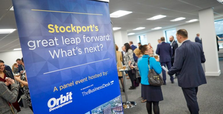 Panel of speakers attending Stockport's Great Leap Forward