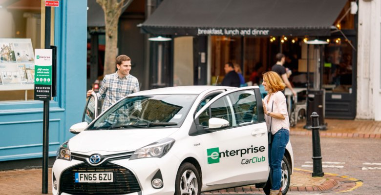Enterprise car club in Stockport