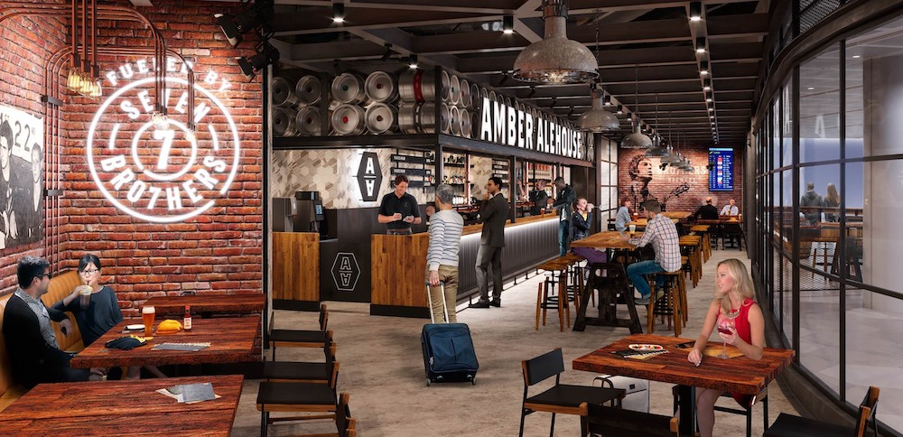 New food outlets at Manchester airport