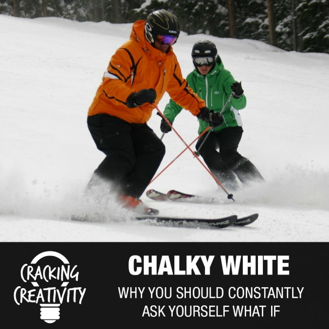 Chalky White on Asking What If, Being Persistent, and Never Giving Up - Cracking Creativity Podcast Episode 90