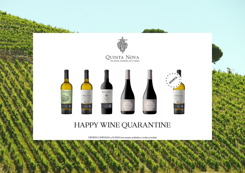 Pack 2 Happy Wine Quarantine - Quinta Nova Nossa Senhora do Carmo
