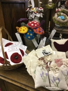 Market Junction Alberta Artisans and Boutque Market Loft Fibre Arts by Marilyn Mantik hand-dyed yarn and craft supplies