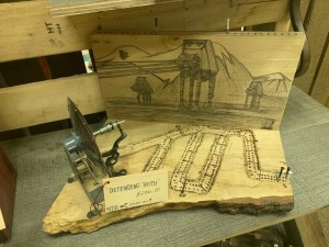 Market Junction and the Cozy Cup Cafe Antique and Artisan Market Cremona Alberta Wolf Dog Studios Handcrafted Star Wars Cribbage Boards Explore Alberta Tourism