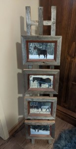 Market Junction and Railway Cafe Antique Market Handmade Wooden picture frame birdhouse Woodworking Designs by Cliff Raskob Cremona Alberta Explore Alberta Tourism Woodworking picture frame birdhouse