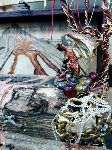 Market Junction Cremona Wolfdog Studios Salvage Art Alberta Artisans crib boards fairy houses