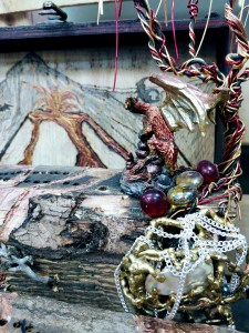 Market Junction Cremona Wolfdog Studios Salvage Art Alberta Artisans crib boards fairy houses
