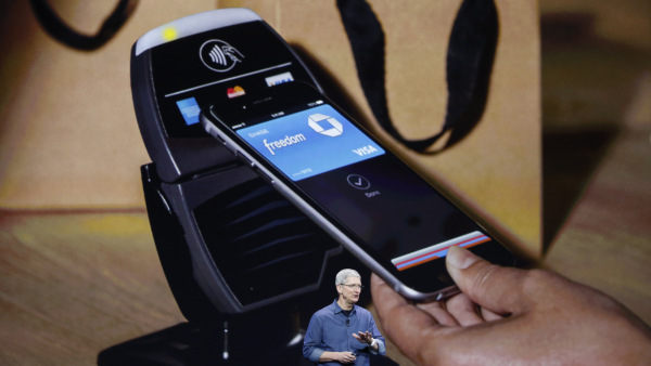 Apple CEO Tim Cook promotes Apple Pay
