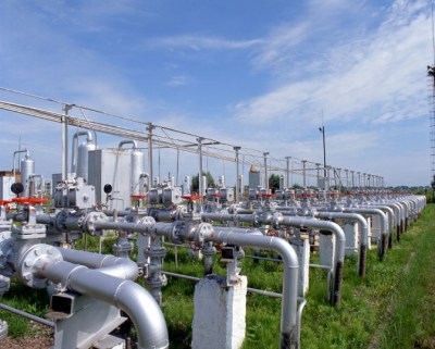 Gas industry, gas transmission system