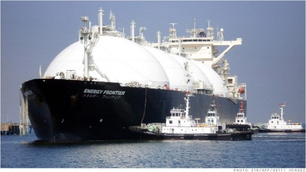 Natural gas could soon be a major US export.