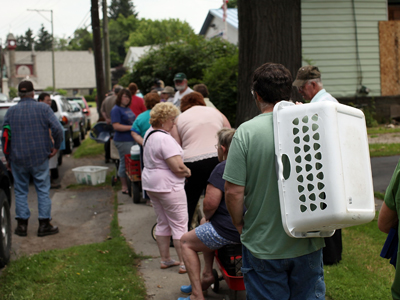 Mobile Food Pantry Serves The Needy In Upstate New York
