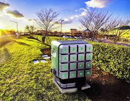 The Cube, Redox's natural gas burning fuel cell could go anywhere.