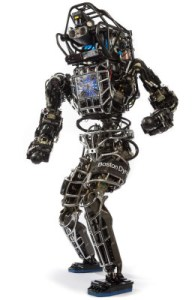 Boston Dynamics scary Atlas robot.