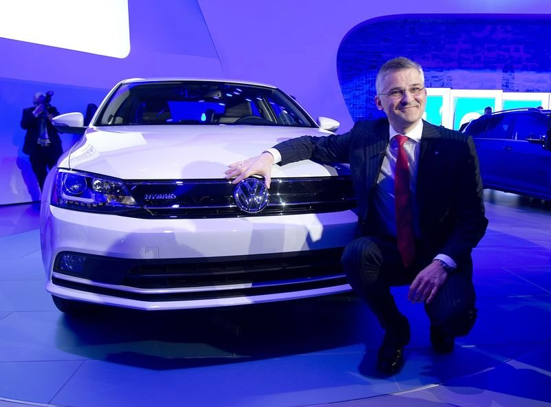 It's easy to see why Martin Winterkorn is smiling VW is now the world's number one carmaker.