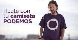 Not your Father's Leftist Julio Iglesias leader of Podemos who wants to be Spain's next Prime Minister. Like Bernie he looks like he's spoiling for a fight.