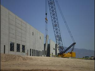 A giant Target Fulfillment Center under construction near Tuscon, Arizona.