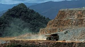 What a modern gold mine looks like. Not a pick nor a shovel in sight.