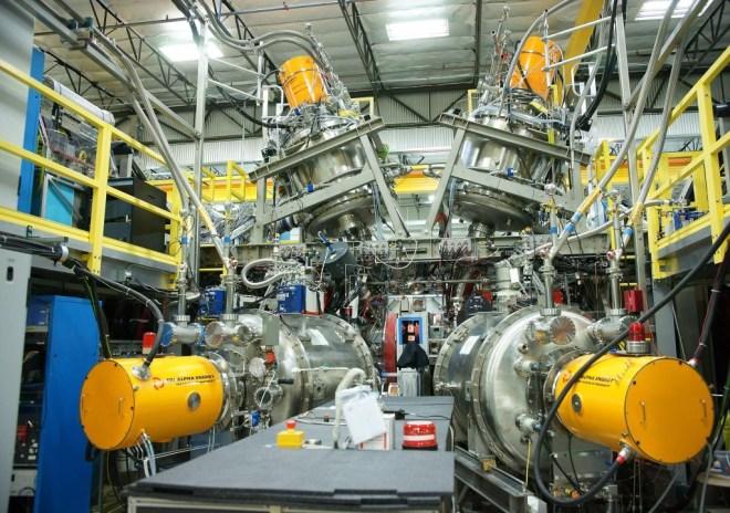 Tri-Alpha's Reactor.