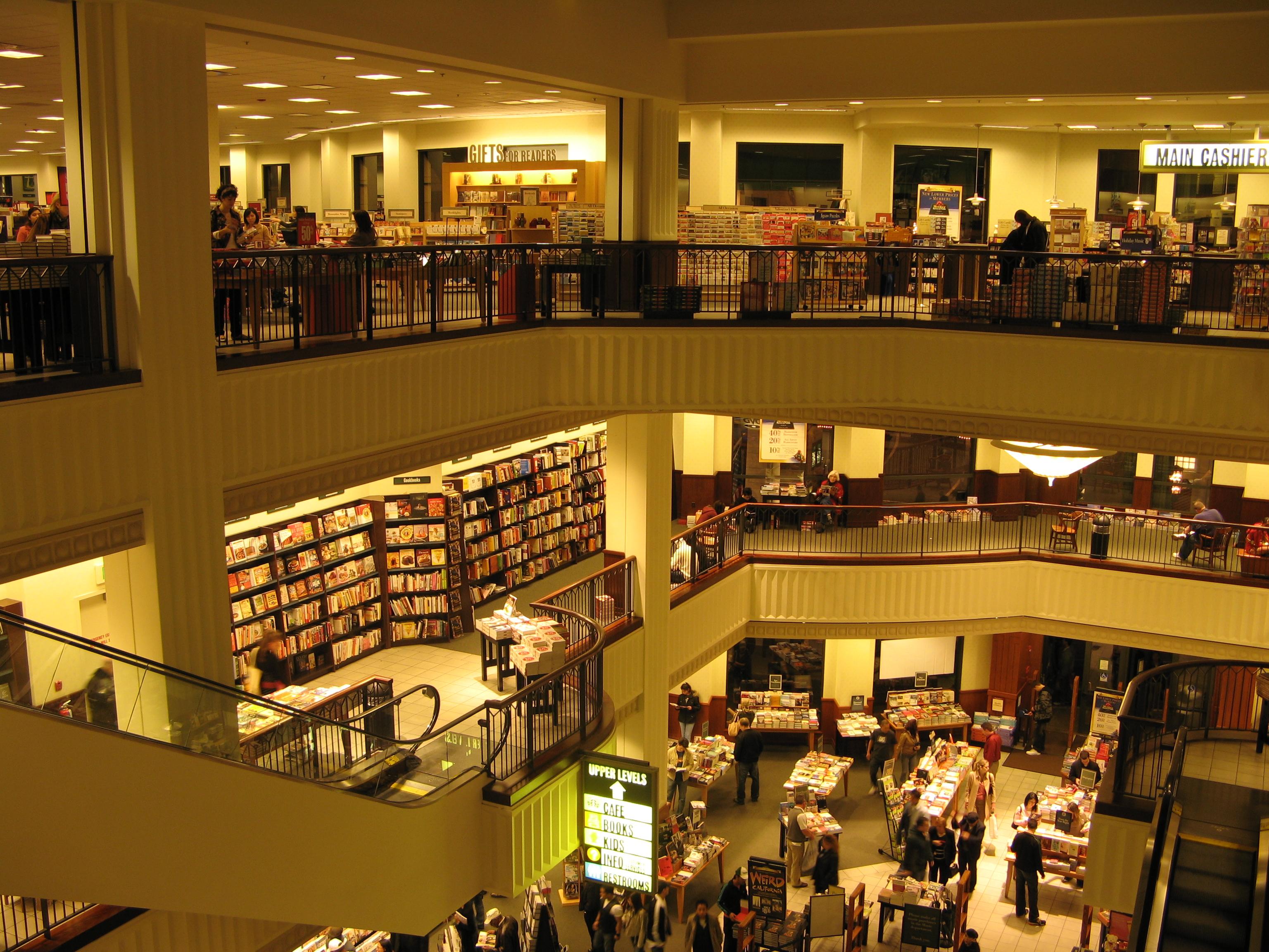 The Strange World Of Barnes Amp Noble Market Mad House