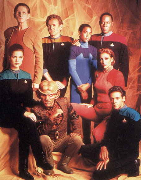 The talented original cast of Deep Space Nine