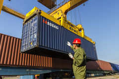 port-railway-handling-containerized-cargo-site-27834577