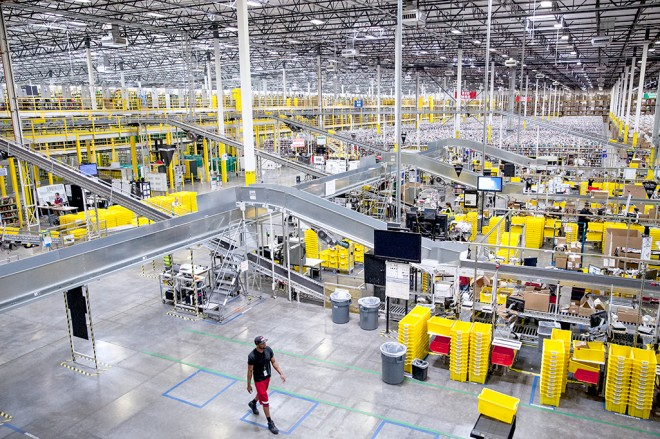 An Amazon Fulfillment Center in Phoenix, Arizona.
