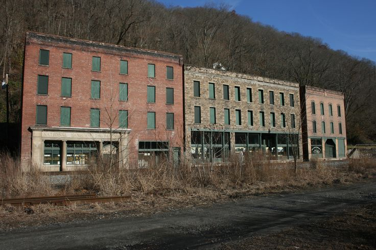 The abandoned coal town of Thurmond, West Virginia.