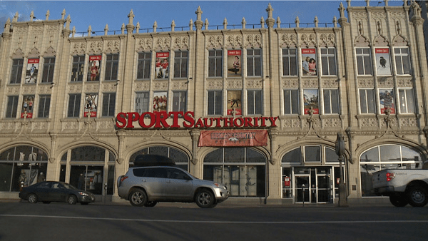 The Sports Castle in Denver's Golden Triangle Neighborhood.