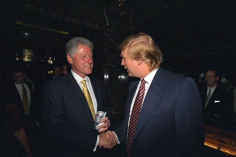 Donald Trump and friend.