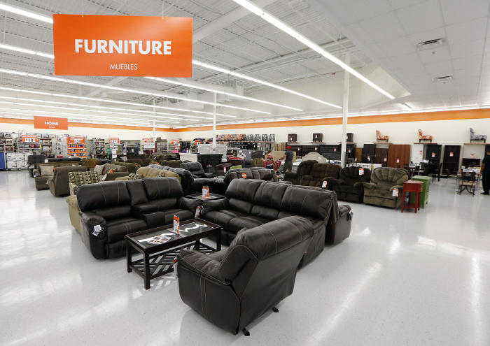The Furniture section in the new Big Lots prototype store in Reynoldsburg on August 20, 2014.  The new store is bigger and has a different layout along with an expanded food section.  (Dispatch photo by Kyle Robertson)
