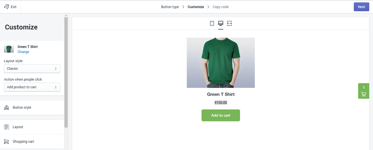 Shopify Lite store creation step-4