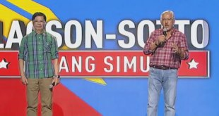 Lacson, Sotto officially declare candidacy for 2022