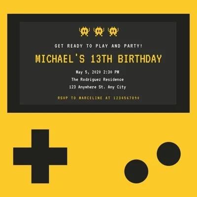 free and printable custom invitation