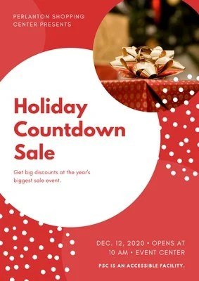 Customize 68 Holiday Posters Templates Online Canva