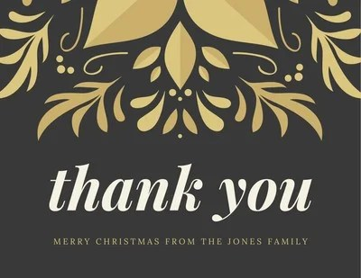 Customize 1 009 Thank You Cards Templates Online Canva