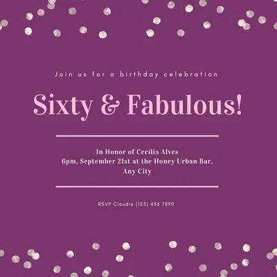 free sweet 16 invitations templates to
