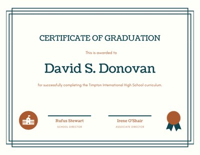 Customize 69 Diploma Certificates Templates Online Canva