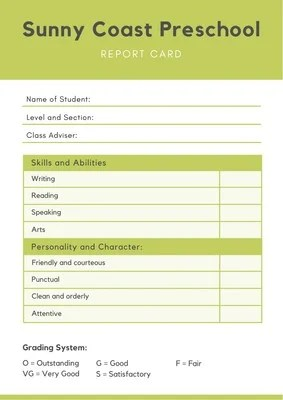 Customize 1 543 Report Cards Templates Online Canva