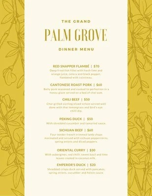 Customize 352 Dinner Party Menus Templates Online Canva
