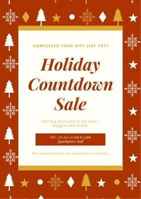 Customize 47 Christmas Posters Templates Online Canva