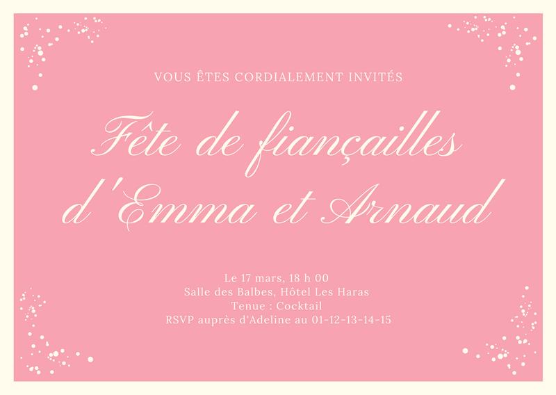 cartes d invitation les plus beaux