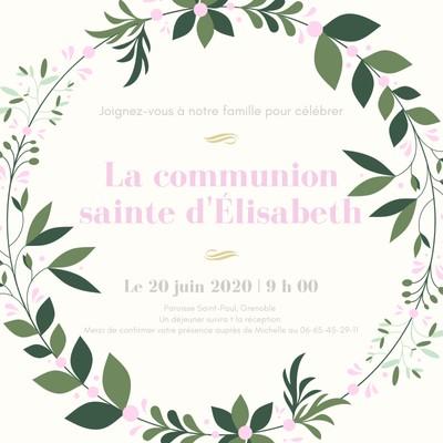 invitations personnalisables