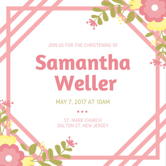 Tea Party Wedding Shower Invitations