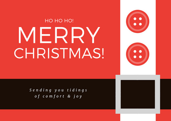 Christmas Card Templates By Canva