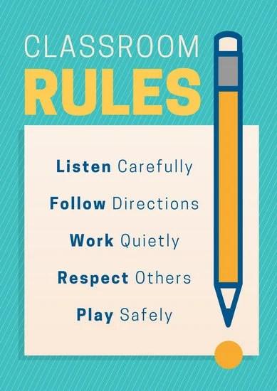 High Safety Lab School Rules
