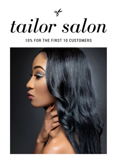 Customize 66 Hair Salon Flyer Templates Online Canva