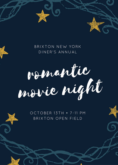 Customize 646 Movie Night Invitation Templates Online Canva