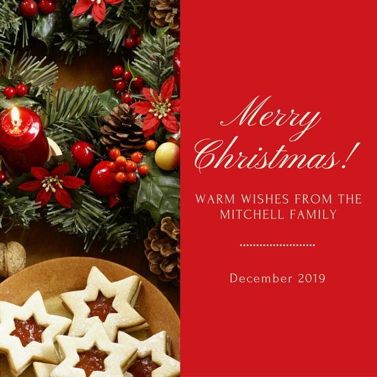 Christmas Photo Instagram Post Templates By Canva